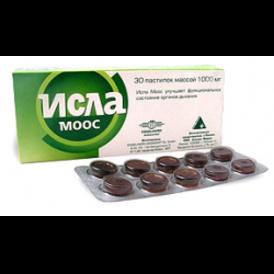 Исла-моос пастилки 80 мг №30