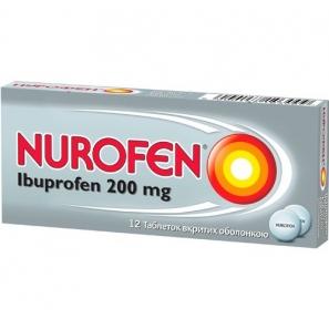 Нурофен табл. п/о 200 мг №12
