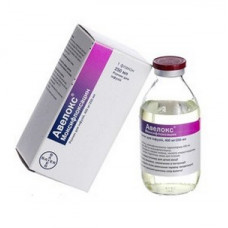 Авелокс р-р д/инф. 400 мг фл. 250 мл №1