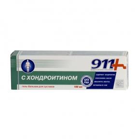 911 Гель-бальзам с хондроитином 100 мл