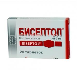 Бисептол табл. 480 мг №20