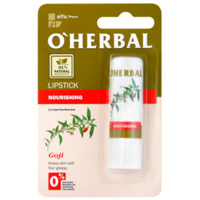 O'Herbal Питательная гигиен.помада/Nourishing Lipstick with