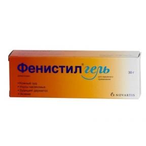 Фенистил гель 0,1% туба 30 г №1